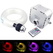 32W RGB 4-Speed Twinkle LED Fiber Optic Star Ceiling Kit Lights 400pcs 13.1ft/4m