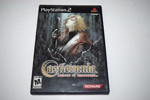 Castlevania Lament Of Innocence Playstation 2 PS2 Video Game Case w/ Artwork
