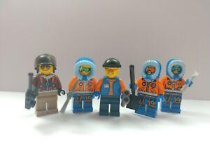 LEGO Arctic Explorers and Researchers Minifigures Bundle