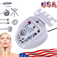 US! 5 in 1 Diamond Micro Ultrasonic Dermabrasion Peeling Scrubber Beauty Machine