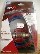 ACV LK-6  Auto KFZ Car HiFi Kabelset Endstufen & Verstärker Woofer  6mm² *NEU*