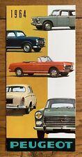 Brochure PEUGEOT 403 404 Fourgon D4B - Prospectus Prospekt French 1964