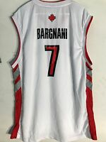 Adidas NBA Jersey Toronto Raptors Andrea Bargnani White Throwback sz XL