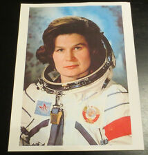 Valentina Tereshkova 1st woman in space Cosmonaut signed autographed photo