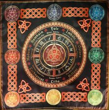 Tablecloth Cape Ritual Wheel of the Year Calendar much