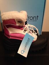 New Girls Coldfront Sleighbell Raspberry Winter Snow Boots Size 5