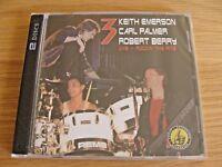 CD Double: 3 : Keith Emerson Carl Palmer Robert Berry Live Rockin' The Ritz '88