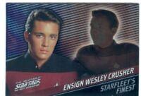 Star Trek TNG Quotable Starfleets Finest Chase Card F9