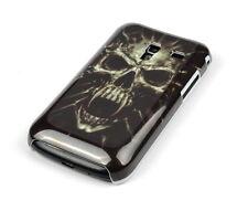 Custodia protettiva per Samsung Galaxy Ace + s7500 Custodia CASE COVER ASTUCCIO TESCHIO SKULL