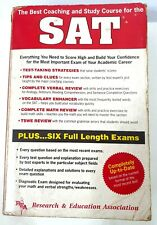 SAT Scholastic Aptitude Test Study Course Guide Book Research Education ~ryokan