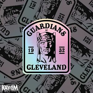 Guardians of Cleveland Holographic Sticker