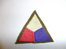 b1725 WW 1 US Army Tank Corp patch machine embroidered on wool PC11