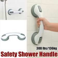 Shower Grip Handle Suction Cup Safety Bar Bathroom Toilet Tub Rail for Elder AA