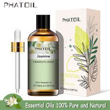 Ätherische Öle Natur Rein - 100ml - Bio Ätherische Öle Jasmine Therapeutisches