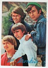 cartolina postcard - SILVECART THE MONKEES