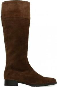 Gabor Dani 509-14 Brown Suede Leather Womens Long Leg Boots