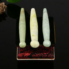 Foot Reflexology Health Jade Stone Foot Massage Tool Acupressure Jade Stick