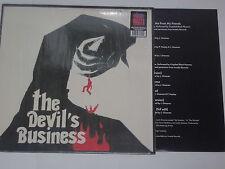 THE DEVIL'S BUSINESS - LP  Soundtrack  OST + POSTER