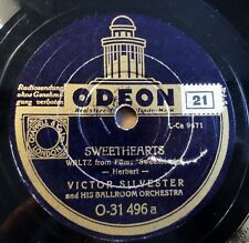 "Victor Silvester - Sweethearts - Could Be - /10"" 78 RPM"