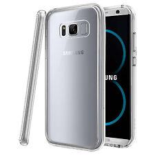 For Samsung Galaxy S8 Plus - Tough Thin Clear TPU Gel Case Cover Skin