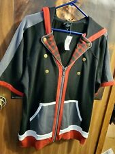 Sora Kingdom Hearts 3 Hoodie Hot Topic Sz L Nwt cosplay