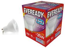 Eveready 3w (= 35w) Led GU10 Foco Lámpara Reflectora - Luz Natural Blanca /