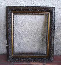 CADRE BOIS MOULURE PÂTE 57 x 49,5 cm.