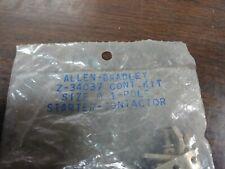 ALLEN BRADLEY Z-34037 CONTACT KIT SIZE 0 1 POLE STARTER NEW IN PACKAGE LOT OF 2