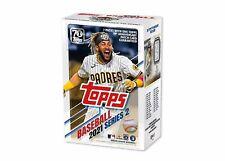 New listing 2021 TOPPS MLB SERIES 2 BASEBALL TRADING CARD BLASTER BOX