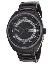 Puma Course - Black Steel Men's watch #PU102521006 USA SELLER