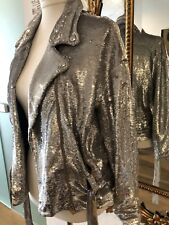IRO Festive Mind blowing Silver Sequins Jacket