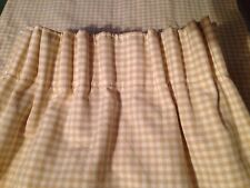 John Lewis  Made to Measure With Blackout Lining Gingham Curtains  😍🌹😎😀
