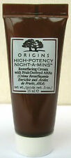 New ORIGINS High-Potency Night-A-Mins With Fruit Derived AHAs 15ml tube