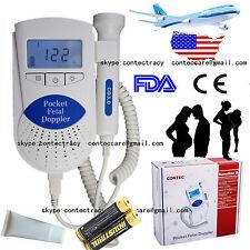 Lcd pocket fetal doppler/prenatal heart monitor sonoline B 3mhz baby heart beat
