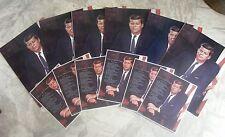 Lot 12 Vintage President John F Kennedy Photos Litho Prints JFK Fabian Bachrach