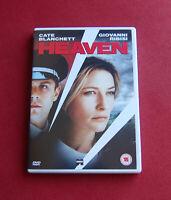 Heaven - Region 2 DVD - Cate Blanchett, Giovanni Ribisi - A Film by Tom Tykwer
