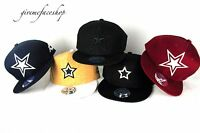 Star snapback caps, mens & ladies premium baseball hats, flat peak brim hip hop