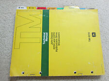 John Deere 2250 & 2270 Hydrostatic Drive Windrowers Technical Manual TM-1078