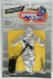 RARE 1987 Tonka Spiral Zone Thermal Attack Suit MOC sealed