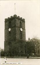 REAL PHOTO POSTCARD OF CHRIST CHURCH, NORTH SHIELDS, NORTHUMBERLAND JOHNSTON#447