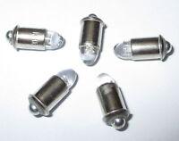 """LED Ersatzlampen MS4 ( Märklin 600000 ) 16-24V  -  5 x   """"NEU"""""""