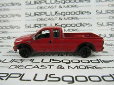 Johnny Lightning 1:64 LOOSE Collectible Red 2004 FORD F-250 F250 Pickup Truck