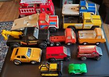 Vintage TONKA Truck Lot of 12 Vehicles, 60s, 70s, 80, more. Great used condition
