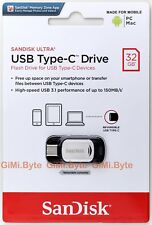 SanDisk 16GB 32GB 64GB 128GB Ultra CZ450 Type-C USB 3.1 Flash Drive Memory Stick
