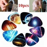 10Pcs/Set Electric Guitar Pick Acoustic Music Picks Plectrum 0.46mm 0.71mm 1mm