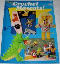 1988 Crochet Mascots #88A3 Pattern Booklet The Crochet Catalog VGC