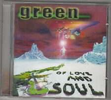 GREEN - of love and soul CD