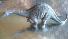 "New Listing2002 Schleich Germany Apatosaurus Dinosaur Toy Model Figure 9-1/2"" x 3-1/2"""