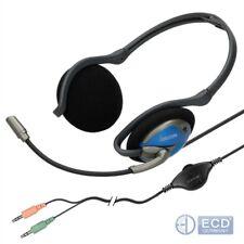 Hama Headset Nackenbügel Stereo Kopfhörer Mikrofon PC Gaming Telefonie CS-498