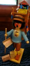 Holzkunst Christian Ulbricht Wooden Nutcracker Toy West Germany